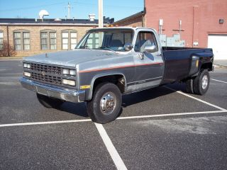 1983 Chevy K30 Pickup Truck 454 1 Ton Dually 4x4 Long Bed