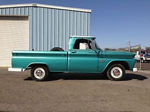 1966 Chevy C 10 Short Bed Shop Truck Rat Rod Small Window