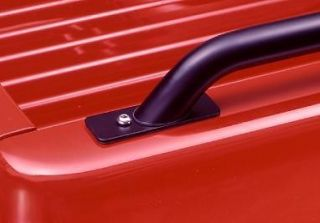Black Bed Rails for 2007 2011 Chevy Silverado 8' Bed