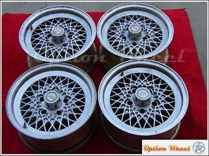 "Set of 4 Jaguar XJ6 XJS 15"" BBs Wheels Rims 59683"