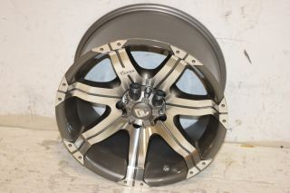 1 Dick Cepek Gun Metal 7 Wheel 17x9 5x5 07 14 Jeep Wrangler JK