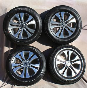 "Honda Accord 2013 16"" Wheels Tires Set of 4"