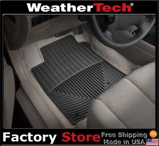 Weathertech® All Weather Floor Mats for 2006 2010 Hyundai Sonata Black