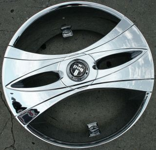 "Dub Deux Wang S149 26"" Chrome Rims Wheels 2WD Sonoma Pickup 26 x 9 5 5H 10"