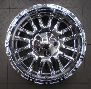 "Incubus 768 Supernatural Jeep Wrangler 18"" Aftermarket Chrome Wheels Rims 5"