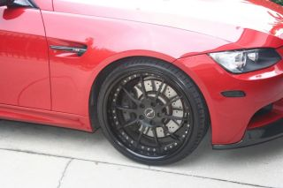 "BMW M3 E92 E93 20"" Custom Wheels Hankook Ventus Tires TPMS L K"