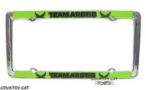 Arctic Cat 2014 Team Arctic Metal Car Truck License Plate Frame Trim 5243 030