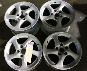 "Porsche 911 996 Turbo Twist BBs 2001 05 Wheels Rims Set 18"" 8x18 11x18 Hollow"