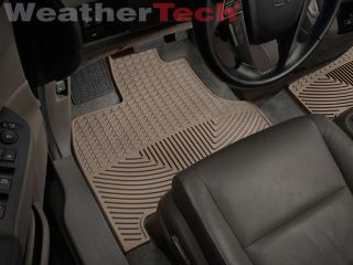 Weathertech® All Weather Floor Mats Honda Odyssey 2011 2014 Tan