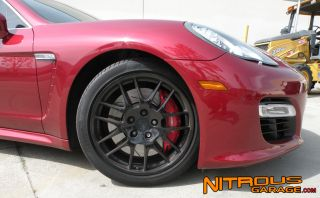 "20"" Factory Porsche Panamera Wheels Gloss Black Turbo s GTS 4 BBs Mesh"