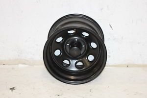 1 Used Black Rock 997 Wheel 15x10 5x4 5 87 06 Jeep Wrangler YJ TJ XJ
