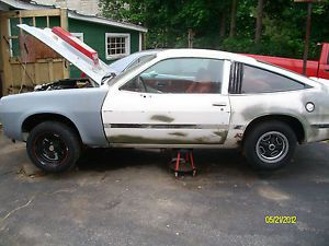 1975 80 Chevy Monza Custom Wheels and Tires