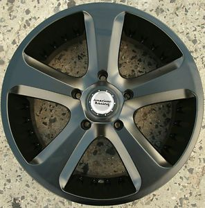 American Racing Circuit 20 x 9 0 s Black Rims Wheels Nissan Murano 03 Up 5H 30