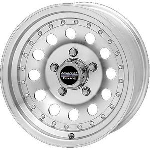 16x8 Machined American Racing Outlaw II Wheels 8x6 5 0 Dodge RAM 2500
