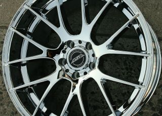 "ASA GT5 20"" Chrome Rims Wheels BMW x3 04 Up 20 x 10 5H 32"