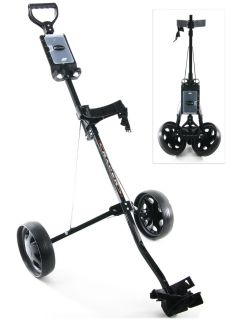 Tartan Golf Racer 2 Wheel Black Pull Cart Brand New