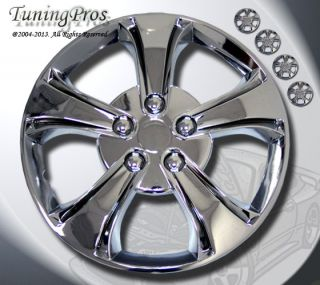 "15"" inch Hubcap Chrome Wheel Rim Covers 4pcs Style Code 616 15 inches Hub Caps"