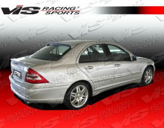 2001 2007 Mercedes C Class W203 4DR Laser 2 Vis Full Body Kit