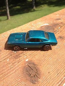 Custom Camaro 1967 Green Hotwheels Redline Hot Wheels