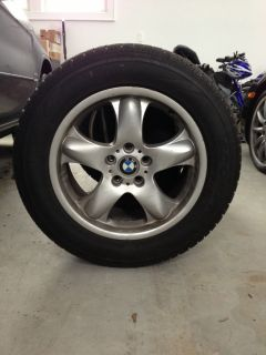 BMW Wheels and Pirelli Winter Tires