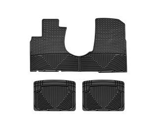 Weathertech® All Weather Floor Mats 2002 2006 Honda CR V Black