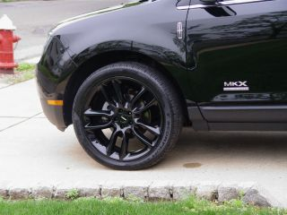 22' Ford Edge Lincoln MKX Wheels Pirelli Tires Powder Coated Black