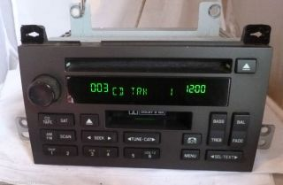 06 07 08 09 10 11 Lincoln Town Car Radio CD Cassette Player 6W1T 18C868 AE B 407