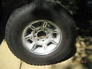 "03 07 Hummer H2 17"" Factory Alloy Wheel on 315 70R17 BF Goodrich Tire"