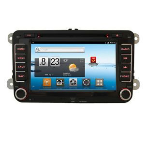 Indash Car Radio CD DVD  GPS Player Pure Android 2 3 3G WiFi F VW Passat Golf