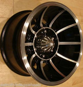 15x8 5 American Racing Vector Turbine Wheel Rims 6x5 5 Jeep Toyota Aluminum Mags