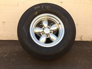 Vintage American Racing 200S Wheels 15x8 MT Et Street Tires Gasser Rat Hot Rod