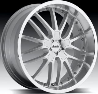 17x8 Advanti Racing Ligero 5x120 40 Silver Rims Wheels Fit BMW x3 330 328 Z3 Z4