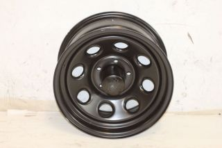 1 Black Rock 997 Wheel 15x7 5x4 5 87 06 Jeep Wrangler YJ TJ Cherokee XJ ZJ