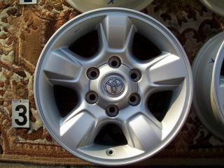 "Toyota Tundra TRD 16"" Wheels Rim Stock Factory Sequoia Tacoma 4Runner FJ Cruiser"