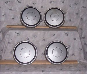 "1970 Fit A 15"" Ford Truck Wheel 4 Dog Dish Hubcaps Caps"