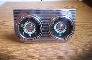 Vintage Stewart Warner Green Line Oil Amps Gauges Gasser Hotrod Ratrod Custom