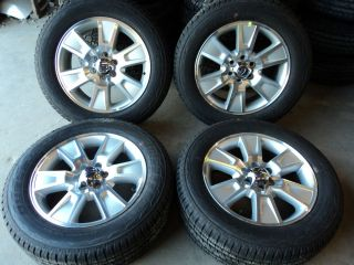 "09 13 Factory Ford F150 20"" Aluminum Wheels 275 55R20 Bridgestone Tires KB109K"