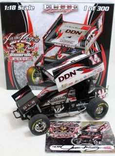 World of Outlaws Two Time Champion Jason Meyers R R Sprint Car GMP 1 18 Diecast