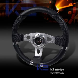 Ford Mustang Sport Steering Wheel 320mm w Blk Stitch
