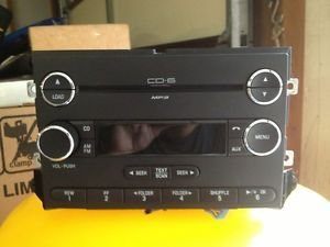 Ford Car Truck Factory Radio Am FM 6 Disc  CD Player 7E5T 18C815 AE