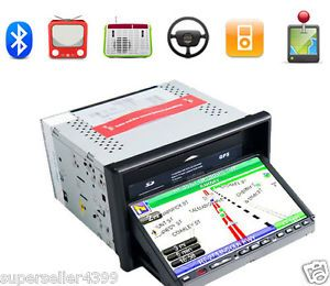 "7"" Car GPS Navigation in Dash Stereo CD VCD DVD Player"