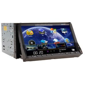 "Double 2Din 7""Touch Screen Car Stereo DVD Player Radio TV iPod Bluetooth USB SD"