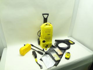 Karcher Modular Series 1600PSI Electric Pressure Washer w Car Care Kit K2 27
