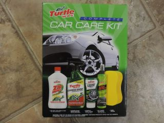 Turtle Wax Complete Car Care Kit Wash Wax Polish Protect New Itb