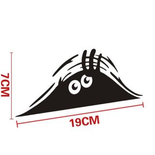Hot Sell Peeking Monster for Cars Walls Funny Sticker Graphic Vinyl Car Decals