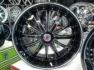 24 inch Red Sport Sport 77B Wheels Rims and Tire Chevy GMC Cadillac Infiniti