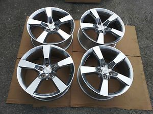 "2010 2012 Genuine Factory Camaro Polish SS 20"" Wheels Polished Rims"