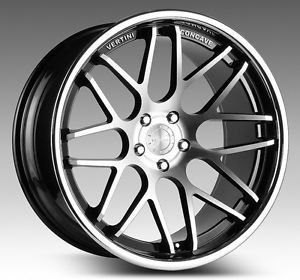 "22"" Vertini Magic Staggered Wheels Fit Chrysler 300 rwd 300 SRT8 2005 2012"