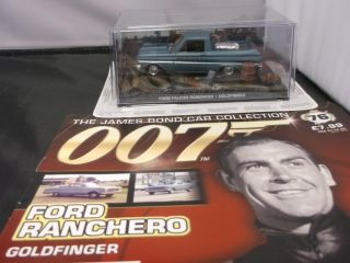 James Bond Car Collection Issue 76 Ford Falcon Ranchero Goldfinger