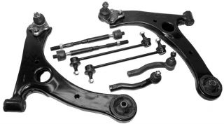 Toyota Corolla Lower Control Arm Tie Rods Steering Kit Suspension Parts